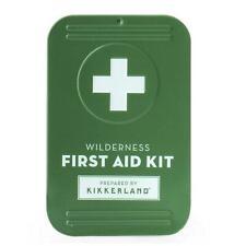 Kikkerland Wilderness First Aid Kit 22 Piece Set Emergency Travel Camping Gift