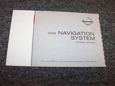 2009 Nissan 350Z Armada Frontier Murano Xterra Navigation System Owner Manual