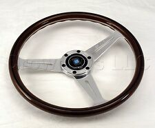 Nardi Classic Wood Steering Wheel - 360mm - Polished Spokes - Screws at Sight