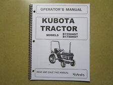 heavy equipment manuals books for kubota backhoe loader for sale rh ebay com kubota bx25 operator manual kubota bx service manual