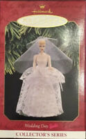 "Hallmark BARBIE BRIDE Ornament Cake Topper  ""Wedding Day"" 1997. NRFB NEW"