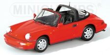 PORSCHE 911 Targa 1991 red 1/43 MINICHAMPS 400061362