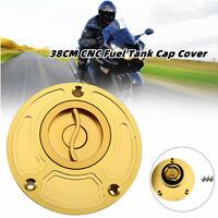 38CM Dirt Bike ATV Motorcycle CNC Gas Fuel Tank Cap Cover Valve Breather