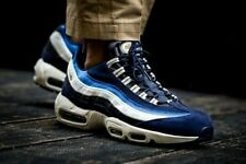 separation shoes 01a6e be6b3 Nike Air Max 95 Premium (Men s Size 8 - 12) Blue Varsity Pack 538416