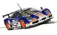 Scalextric Mclaren F1 GTR - Gulf Edition - Le Mans 1995 Schlitz Auto - C3969