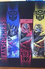 Transformers 1 Folder with Optimus Prime,Decepticon Stringer,Bumble Bee New 2014