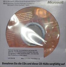 Microsoft OFFICE 2003 SMALL BUSINESS Vollversion(SB) dauerhafte Lizenz CD DVD DE