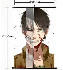 Japan Anime Attack On Titan Wall Scroll Poster 1571