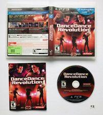Dance Dance Revolution (Sony PlayStation 3, 2010) CIB