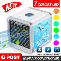 NEW Portable Mini Air Conditioner Cool Cooling For Bedroom Cooler Fan AU