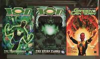 Green Lantern 3 TPB Lot: Ion, Guardian: Torchbearer, Dying Flames: Sinestro Corp