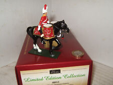 Britains 48012 Royal Scots Dragoon Guards,Modern Mounted Kettle Drummer  in 54mm