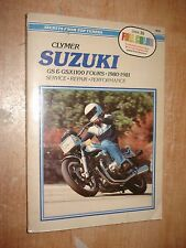 1980-1981 SUZUKI GS & GSX1100 FOURS MOTORCYCLES SERVICE MANUAL SHOP BOOK REPAIR
