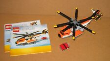 7345 LEGO Transport Chopper – 100% Complete w Instructions Great COND 2012