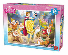 Childrens 24 Piece Disney Jigsaw Puzzle - Snow White & The Seven Dwarves 5242B