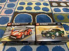 Lego 75884 ('68 Ford Mustang Fastback) + 75886 (Ferrari 488 Gt3 Scuderia Corsa)