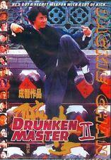 Drunken Master 2----Hong Kong Kung Fu Martial Arts Action movie DVD - NEW DVD