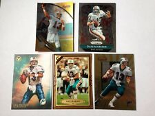 DAN MARINO Lot of 9 cards DE BOWMAN/TOPPS/PANINI/FLEER/ProSet/Playoff Miami Dolphi