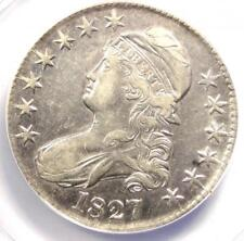 1827 Capped Bust Half Dollar 50C Coin O-130 - ANACS XF40 Details - Rare Date!