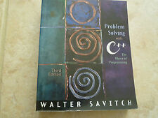 Problem Solving with C++ : The Object of Programming by Walter J. Savitch...