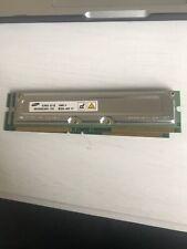 256MB 800-45 PC800 Samsung MR16R0824BN1-RAMBUS RDRAM Memory