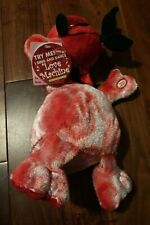 "Nwt Valentines Day Animatronic Singing Monkey w/ Rose - Sings ""Love Machine�!"