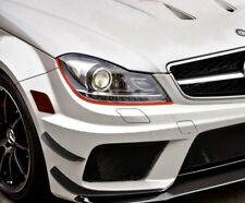 Devil Eyes Headlights Stripes Mod Mercedes A C E Class A45 CLA Coupe Amg SL GL