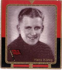 FOOTBALL BILD KÖNIG Fußball 1935/36 UNVERGESSEN † HANS KÖNIG DSC DRESDNER SC