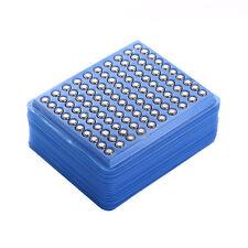 HMQC 50 Pcs SR626SW AG4 377 LR626 Alkaline Button Cell 1.55V Watch Battery