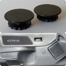 88-91 Honda CRX Window Crank Delete Plugs_power conversion hole cap cover hole