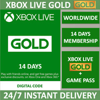 Xbox LIVE 14 Day GOLD + 14 day XBOX GAME PASS ULTIMATE Membership Instant Code