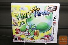 Yoshi's New Island 1st Print (Nintendo 3DS, 2014) FACTORY SEALED & MINT!