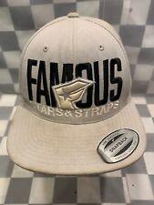 FAMOUS Stars & Stripes Snapback Adult Cap Hat