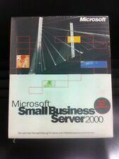 MS Small Business Server 2000 / 5 Cal, Deutsch mit MwSt-Rechnung vom Fachhändler