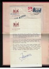 Tennessee Williams SIGNED Letter discussing a New Novella Cocteau Marais Olivier