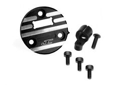 JConcepts 2192-2 Reedy Sonic Alum Timing Cover w/Sensor Wire Protector (Black)
