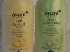 AYUMI HENNA  CONDITIONING SHAMPOO & ANTI-DANDRUFF SHAHPOO HERBAL EXTRACTS 400 ml
