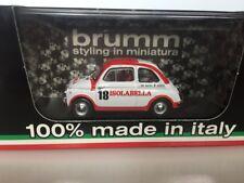 BRUMM 1:43 Fiat nouva 500D Amaro 18 Isolabella 1960 R408