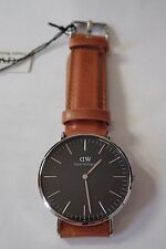 Daniel Wellington Classic Black Durham 40mm Watch DW00100132 Silver