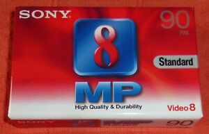 SONY VIDEO 8 P5-90MP3 PAL BLANK CAMCORDER TAPE - BRAND NEW & SEALED