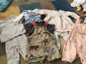 Up to 1 Month Baby Girl Clothes Bundle