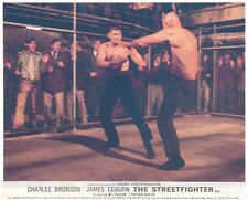 The Streetfigter Hard Times Original Lobby Card Charles Bronson Robert Tessier
