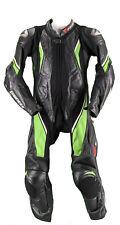 Dainese Lederkombi Gr. 52 Einteiler Motorradkombi Leather Suit Schwarz Grün