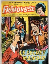 FRIMOUSSE n°36 ~+~ 1960 ED CHATEAUDUN ¤ MES HISTOIRES ILLUSTREES PREFEREES
