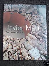 JAVIER MARIN. SIGNED. CASA DE AMERICA  Mexican Art Book.