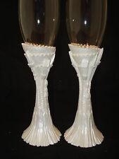 Discount Cinderella castle fairy tale wedding glasses glass flutes reception