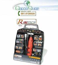 Miniutensile rotativo/Minitrapano 135W + 300 accessori Ribitech  - PROMKIT300