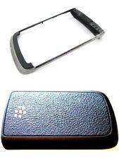 Blackberry Bold 9780 Chrome Lunetta & COPRIBATTERIA Combo Ricambio UK Venditore