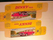 REPLIQUE BOITE BMW 1500 / DINKY TOYS 1966