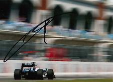 Kazuki Nakajima mano firmado AT&T Williams F1 Foto 7x5 11.